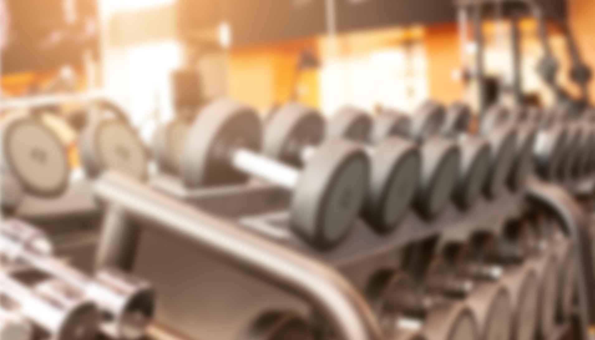 Freier Hantelbereich Fitnessstudio Bremen Sport Aktiv